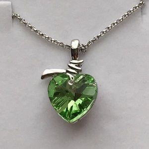 Heart Apple Austrian crystal & Swarovski elements